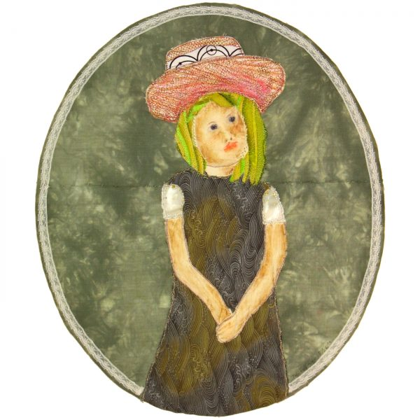 Girl in a Big Hat